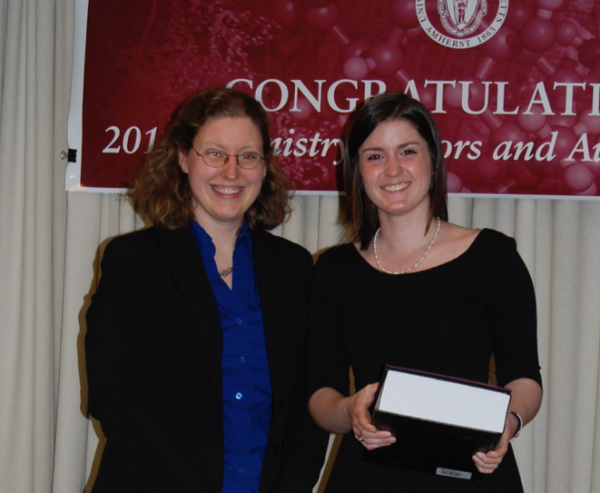 Alex wins CRC Freshman Chemistry Award | Knapp Research Group